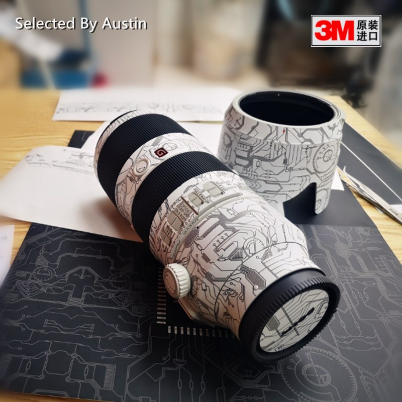 Lens Skin Decal Sticker Anti-scratch Protector For Sony FE 70-200 F4 70-200 2.8GM Wrap Cover Case