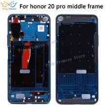 Per Huawei Honor 20 Pro Medio Cornice Bezel Medio Piastra di Copertura Parte di Riparazione per Honor 20 Pro Medio Cornice YAL-AL10