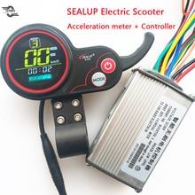 Контроллер скорости для электрического скутера с ЖК-дисплеем, 36 В, 48 В
