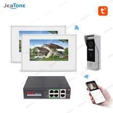 Система видеодомофона tuyasmart 720p wi fi 7 ''сенсорный