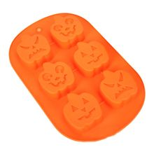3pc Halloween Silicone Baking Molds Perfect to Make Pudding, Ice Cube, Chocolate
