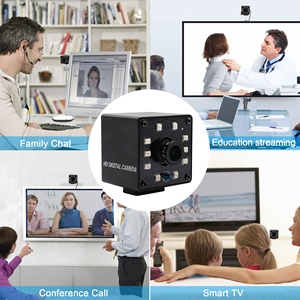 Image 4 - אינפרא אדום USB Webcam 1080P מלא HD MJPEG 30fps ראיית לילה IR לחתוך מיני USB מצלמה עם נוריות עבור אנדרואיד, לינוקס, Windows, מחשב
