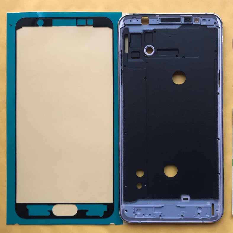 For Samsung J7 2016 Phone Front Frame Housing Middle Frame Chassis For Samsung Galaxy J7 J710 J710F J710FN J710H J710M J710MN