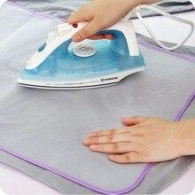 1 шт. защитная изоляция гладильная доска крышка от пресс ing Pad гладильная ткань защитная пресс-сетка