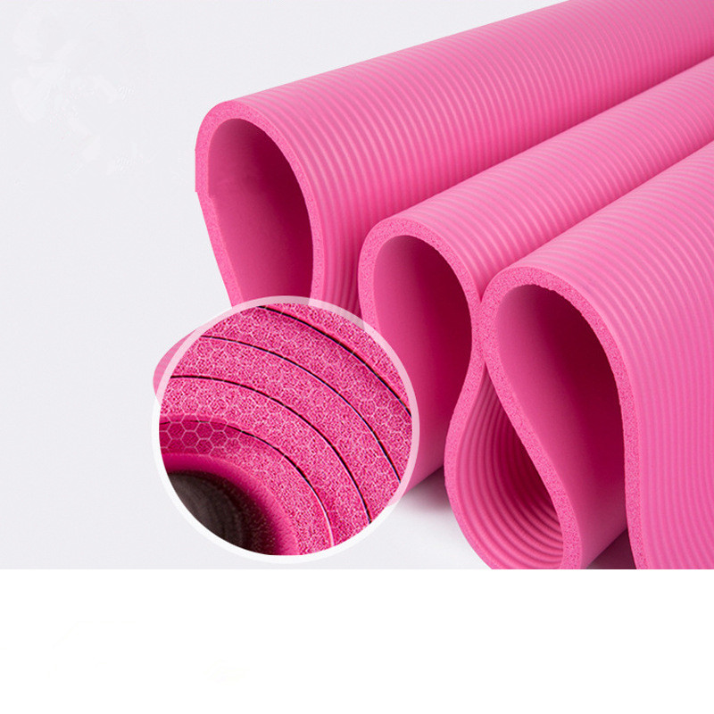 2020 183*61*1.5cm Thickess Non-Slip Yoga Mat Sport Gym Soft Pilates Mats Foldable for Body Building Fitness Exercises Equipment