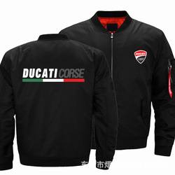 New Men's Ducati Motorcycle Logo Digital Printing Jacket Casual Harajuku High Quality Jacket Cycling Suit Peripheral Flying Suit