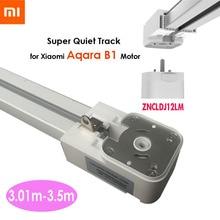 3,01-3,5 м Xiaomi супер тихий электрический занавес трек для Mijia Aqara B1 мотор, автоматическая занавеска рельс, установка потолка, двойной открытый
