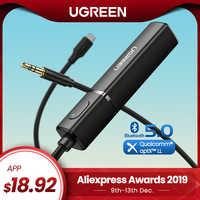 Ugreen nadajnik Bluetooth 5.0 TV słuchawki PC PS4 aptX LL 3.5mm Aux SPDIF 3.5 Jack optyczny Audio muzyka Bluetooth 5.0 Adapter