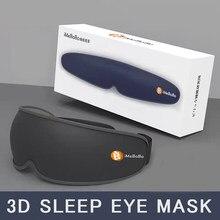 Sleep Mask One Piece Sleeping Eye Cover Eyepatches Bandage Night ForWomen Blindfold Eyemask Adjustable Black Rest Sleep Shade