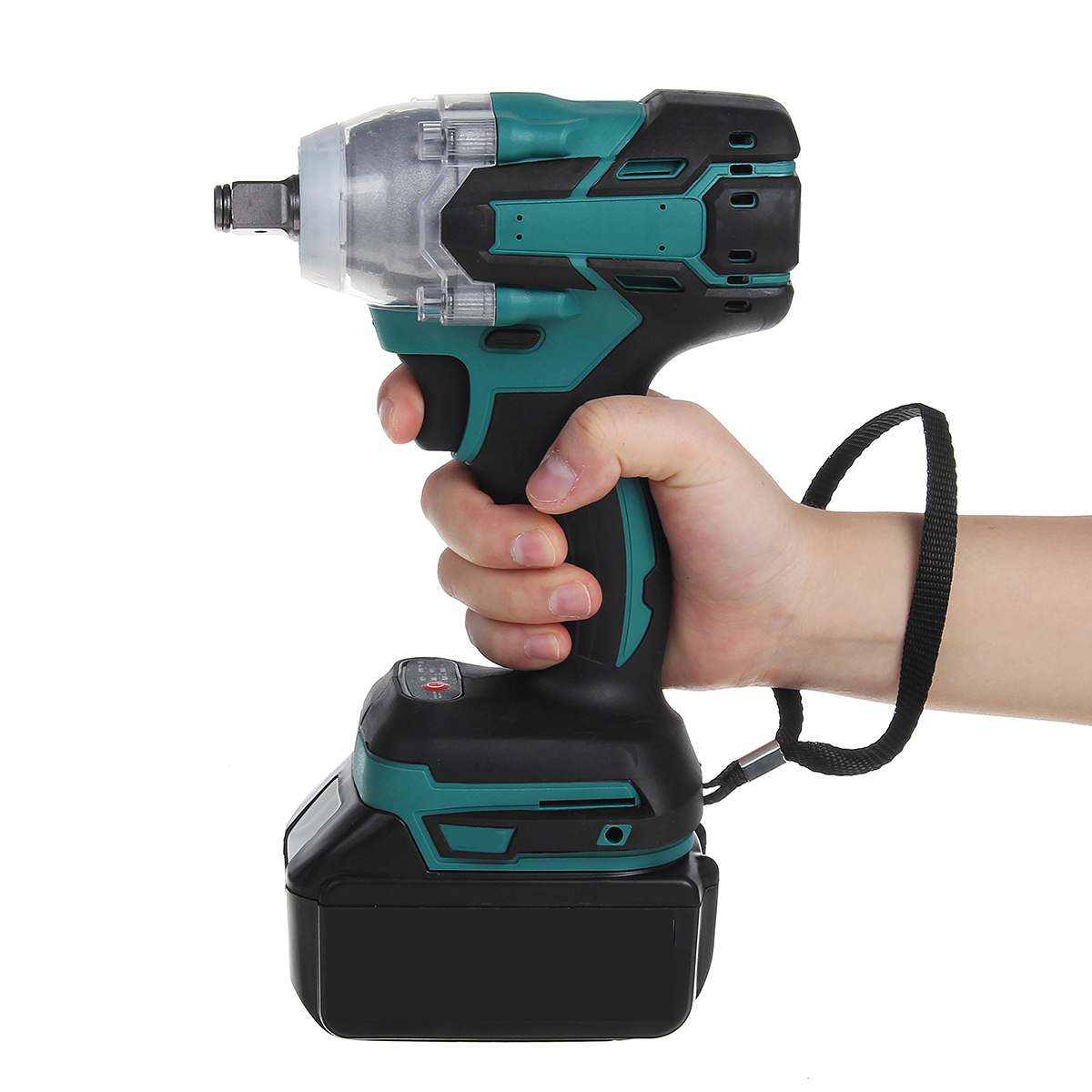 NEW 110-240V 22800mAh 288VF Brushless Electric Impact Wrench 1/2 Lithium-Ion Battery 6200rpm 800 N.M Torque