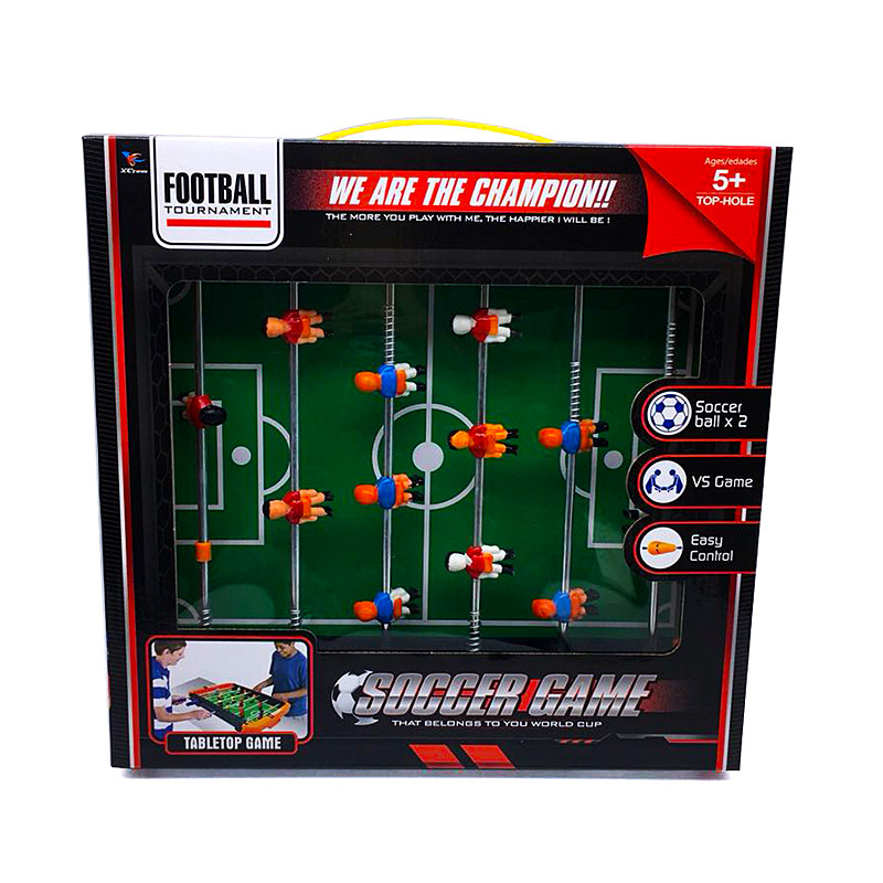 Football field desktop soccer table toy large 6 Children 39 s kids casual puzzle billiards rooms interactive toys family activity in Toy Sports from Toys amp Hobbies