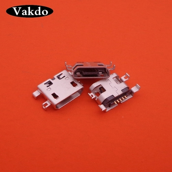 2pcs/lot micro USB Charging Port Dock jack socket Connector Repair Parts For Alcatel Idol 3 OT6045 6045 6045Y high quality image