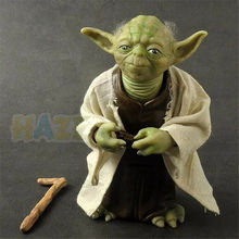 Star Wars The Force Awakens Jedi Master Yoda Statue PVC Action Figure Model Toy Collection Figure Toys Doll In Box 18cm Gifts saintgi saintgi star wars the force awakens kylo ren action figure pvc 16cm model toys kids gifts collection free shipping