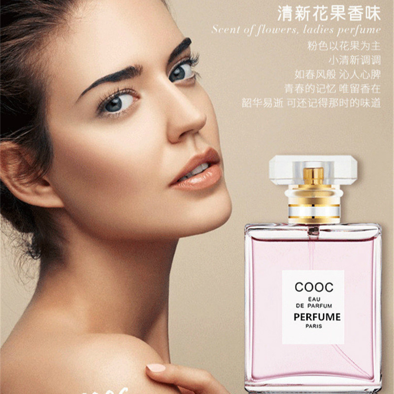 50ml Women Perfumes Glass Bottle Spray Fragrance Perfume Feminino Lady Long Lasting Eau De Parfum