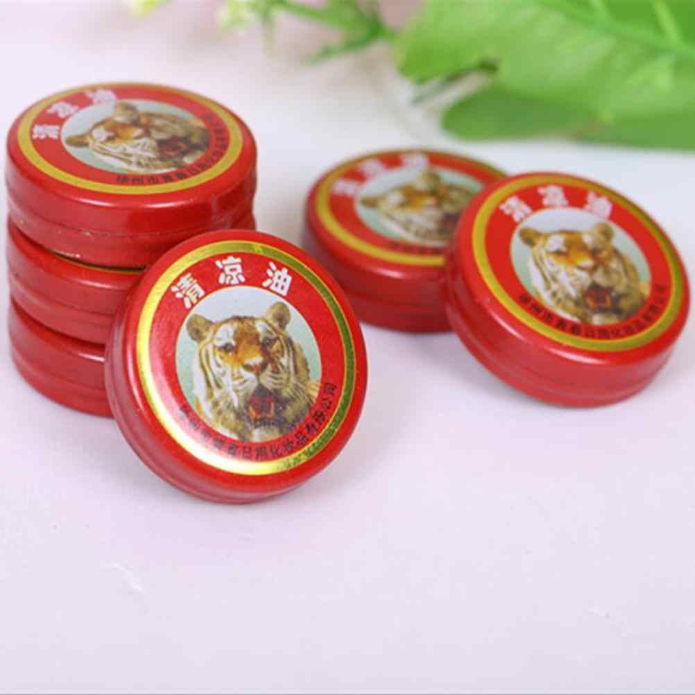 2Pcs Massager Relax Chinese Tiger Balm Red Refresh Oneself Treatment Of Influenza Cold Headache Dizziness Muscle