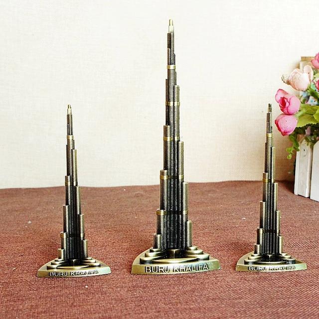 13/18cm Burj Khalifa Dubai Worlds Tallest Building Architecture Model Decoration