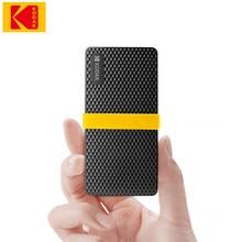 Kodak – disque dur externe Portable ssd de Type c, usb 3.1, capacité de 512 go, 256 go, 1 to, Gen 2, pour ordinateur Portable, Macbook