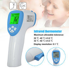 Kid Forehead Adult Fever IR Thermometer Infrared Digital LCD Body Measurement Free Shipping