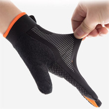 Gloves Outdoor Fabric Cycling Touch-Screen Mountaineering Fitness Climbing Breathable