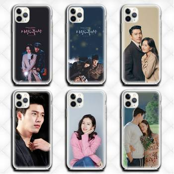 Son Ye Jin Hyun Bin Phone Case Clear for iphone 12 11 Pro max mini XS 8 7 6 6S Plus X 5S SE 2020 XR cover image