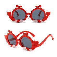 Модные детские солнцезащитные очки с изображением дельфина устойчивые