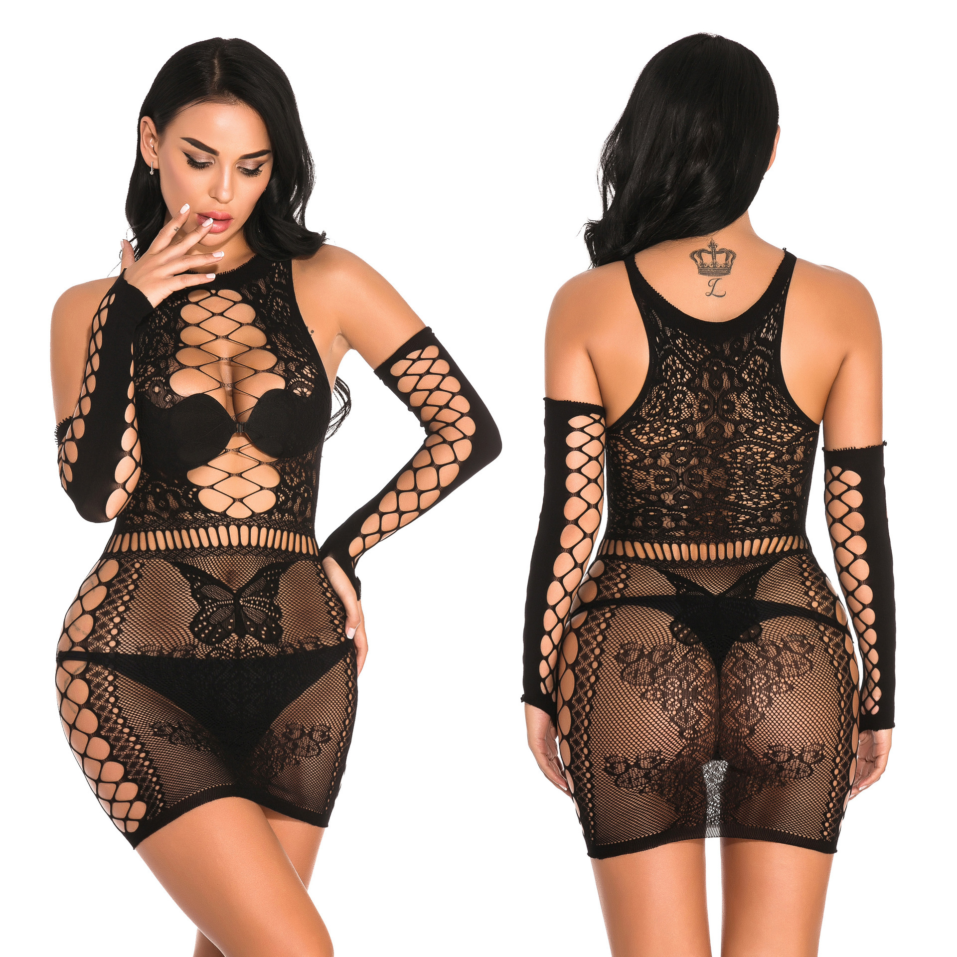 New <font><b>Sexy</b></font> Women Bodysuit <font><b>Lingerie</b></font> Underwear Fishnet <font><b>Bodystocking</b></font> For Sex Erotic Costumes Pantyhose Mesh <font><b>Tights</b></font> image