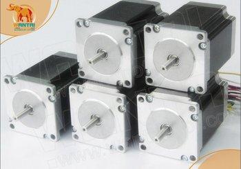 4-Leads WANTAI 5PCS NEMA23 STEPPER MOTOR OZ-IN,4.0A, 2 Phase CNC Mill &Cutting 2dm442 2 phase nema23 nema17 stepper motor driver dc24 48v 1 0 4 2a jmc
