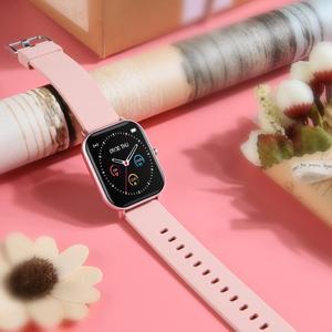Image 2 - IP67 P8 Smart Watch Wristband Men Women Sport Clock Heart Rate Monitor Sleep Monitor Smartwatch tracker for phone Color Screen