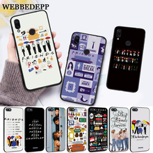 WEBBEDEPP friends tv Silicone Case for Xiaomi Redmi Note 4X 5 6 7 Pro 5A  Prime все цены