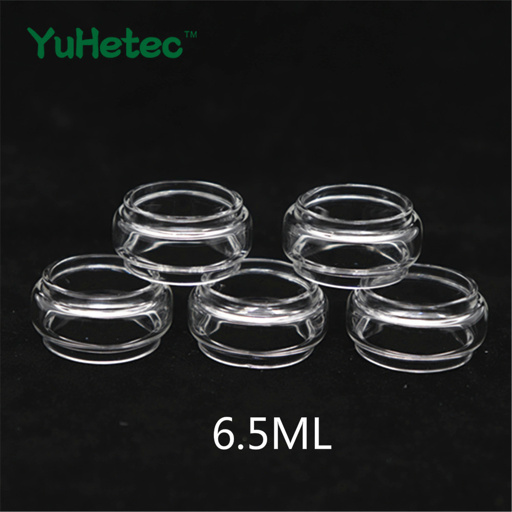 5PCS YUHETEC Glass Tank For  Wotofo Profile Unity RTA 3.5ml / 5ml /6.5ml