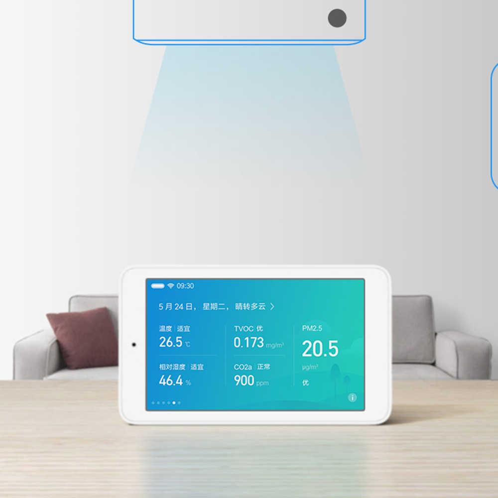 Xiaomi Mijia hava kalitesi test cihazı 3.97 inç ekran uzaktan izleme akıllı TVOC CO2a PM2.5 sıcaklık ve nem ölçümü