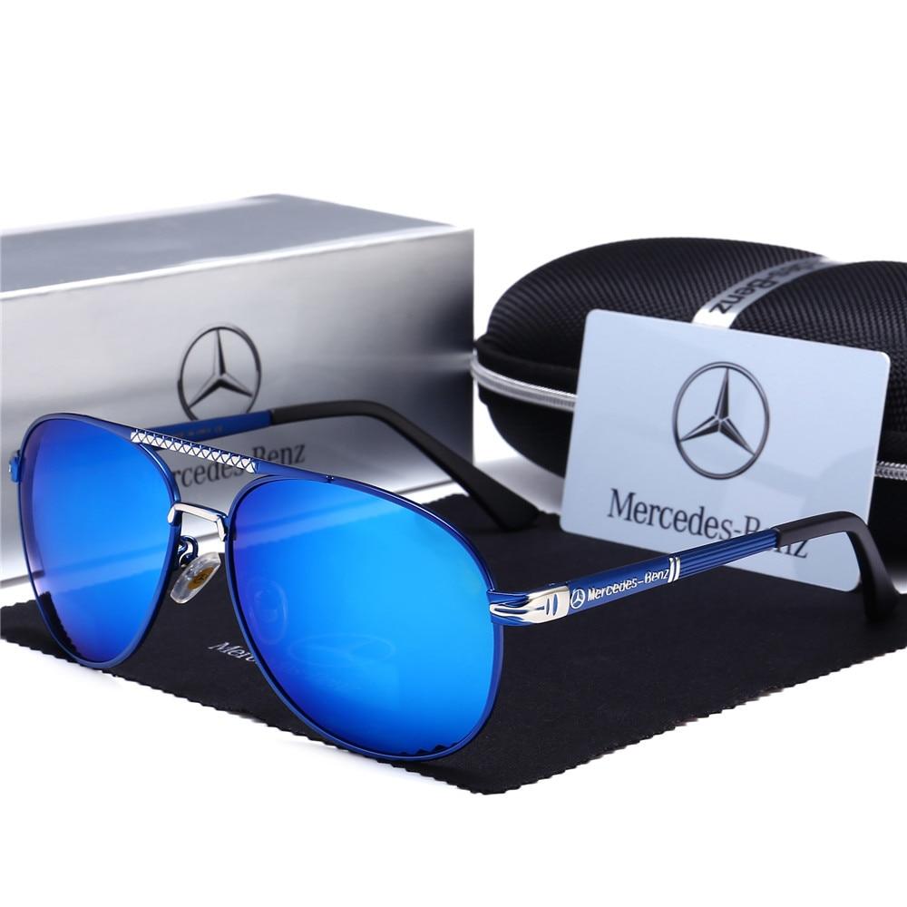 2019-Stunning Men Sun Glasses Mercedes Polarized Light Sunglasses 753 Sun Glasses