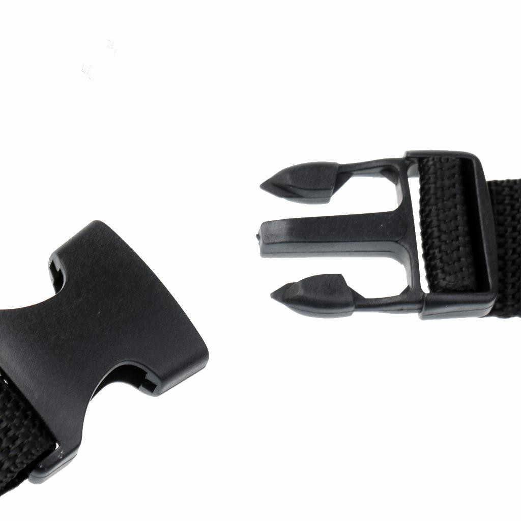 Üreticileri üretim dalış giyim aksesuarları plastik hızlı bırakma toka açık sırt çantası asılı kanca el feneri Ac