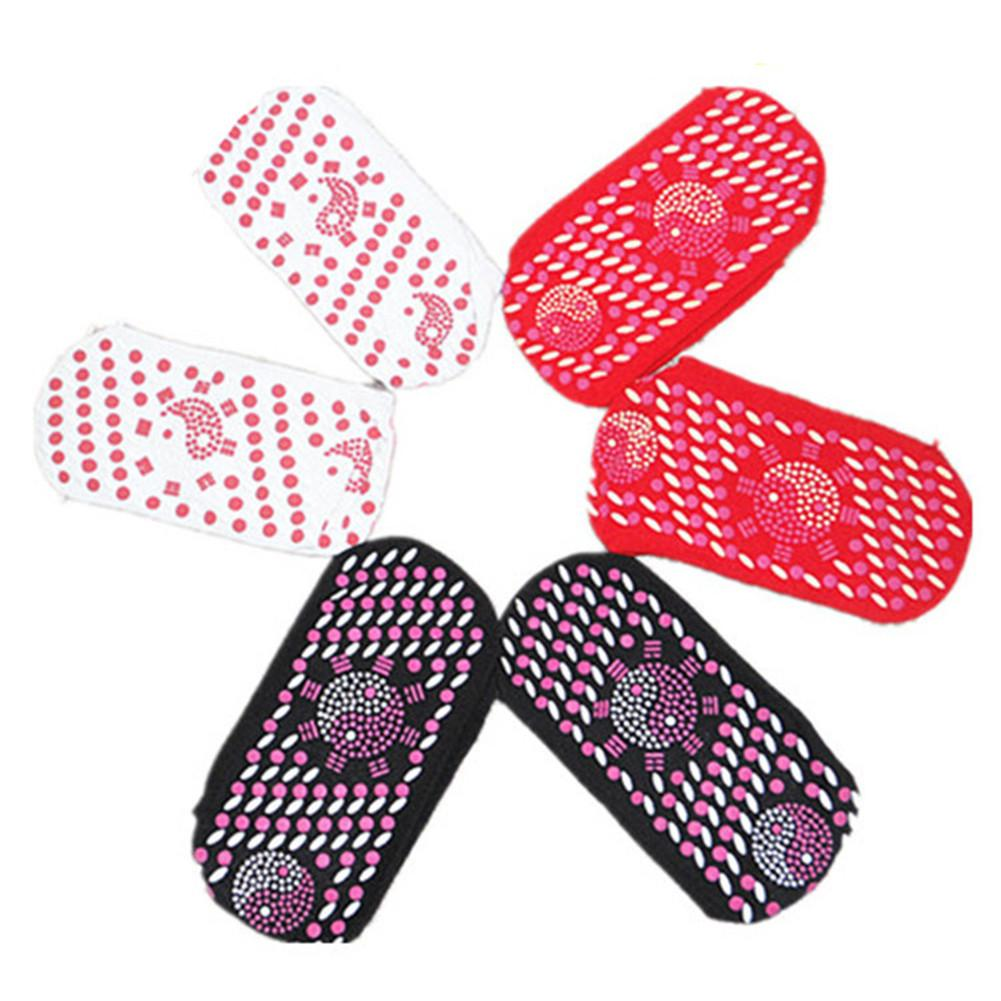 Sports Massage Socks Comfortable Breathable Tourmaline Magnet Therapy Massager Winter Self-Heating Health Foot Care Socks