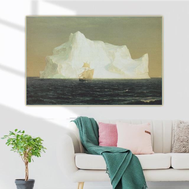 Фото цитон фредерик эдвин церковь iceberg айсберг 1891 canvas холст