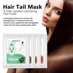 5 peças cabelo cauda filme vapor livre nutrição profunda reparação seco frizz bifurcado cuidados com o cabelo óleo essencial sswell