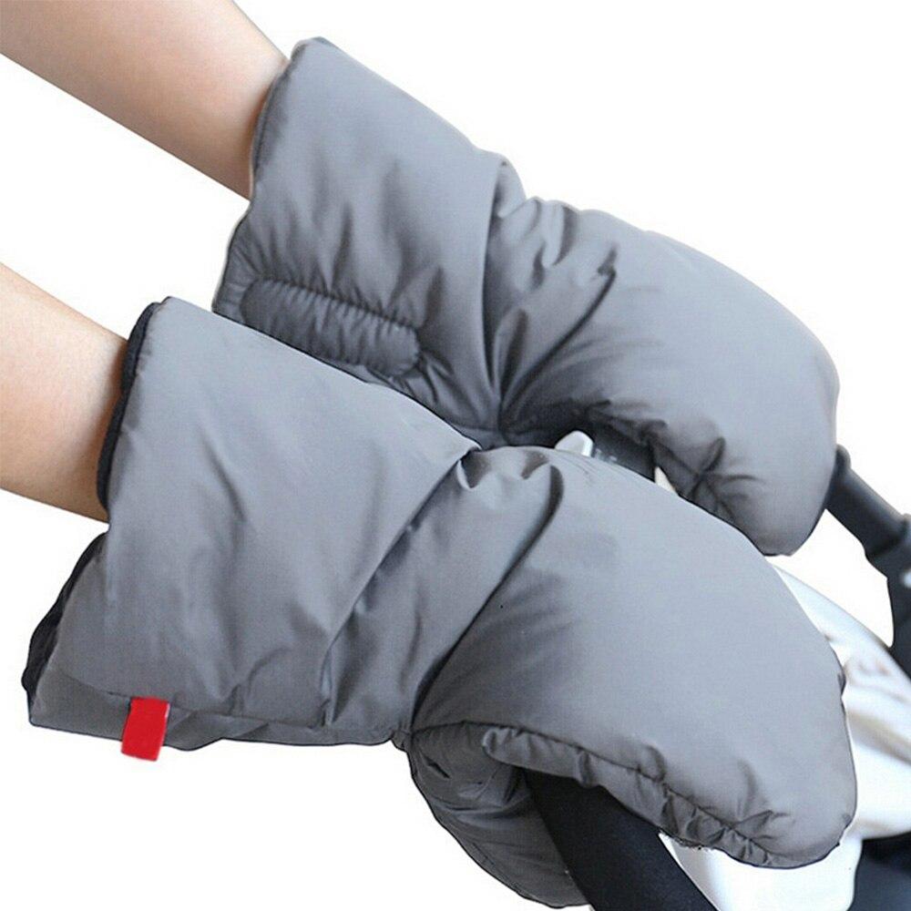 Зимние Warme варежки на коляску, детская коляска, муфта для рук, водонепроницаемый аксессуар для коляски, рукавица, детская коляска, клатч, уличная перчатка - Цвет: PJ3480H