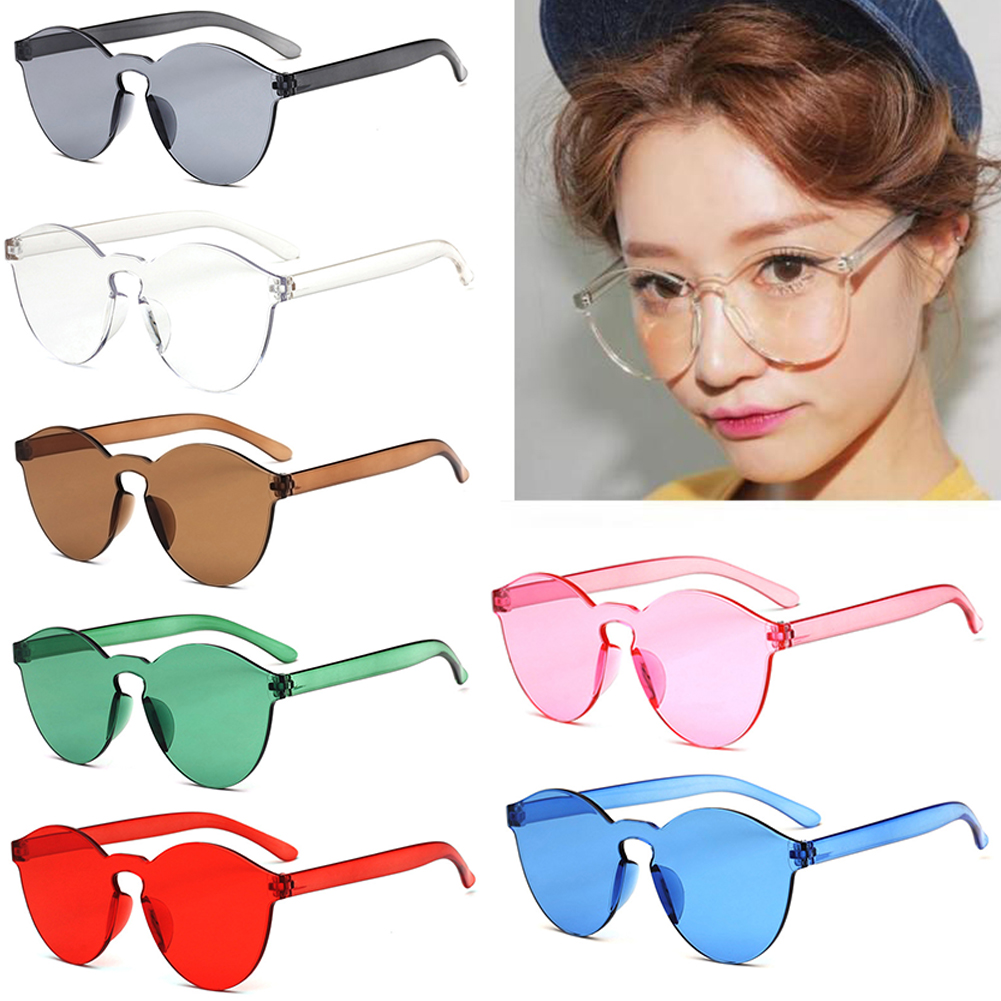 Motorcycle Driver goggles Women Men Fashion Clear Retro Sunglasses Outdoor Frameless Eyewear Glasses Car Accessories