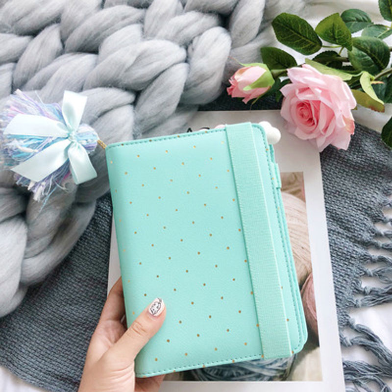 Lovedoki 2020 Dokibook Notebook Candy Color Cover A6 Loose-Leaf Time Planner Organizer Series Personal Diary Memos