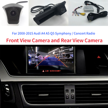 A4 / A5 Q5 B8 8K 8T 8R Car Front and Rear Camera Interface kit For Audi Symphony Concert Radio with Active Parking Guidelines