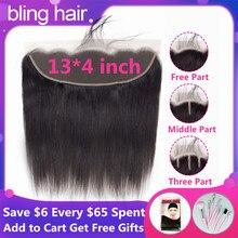 Шикарные волосы перуанский прямые парики из натуральных волос на кружевной закрытием 13x4 Средняя//три части швейцарские кружева Remy пряди натуральных волос