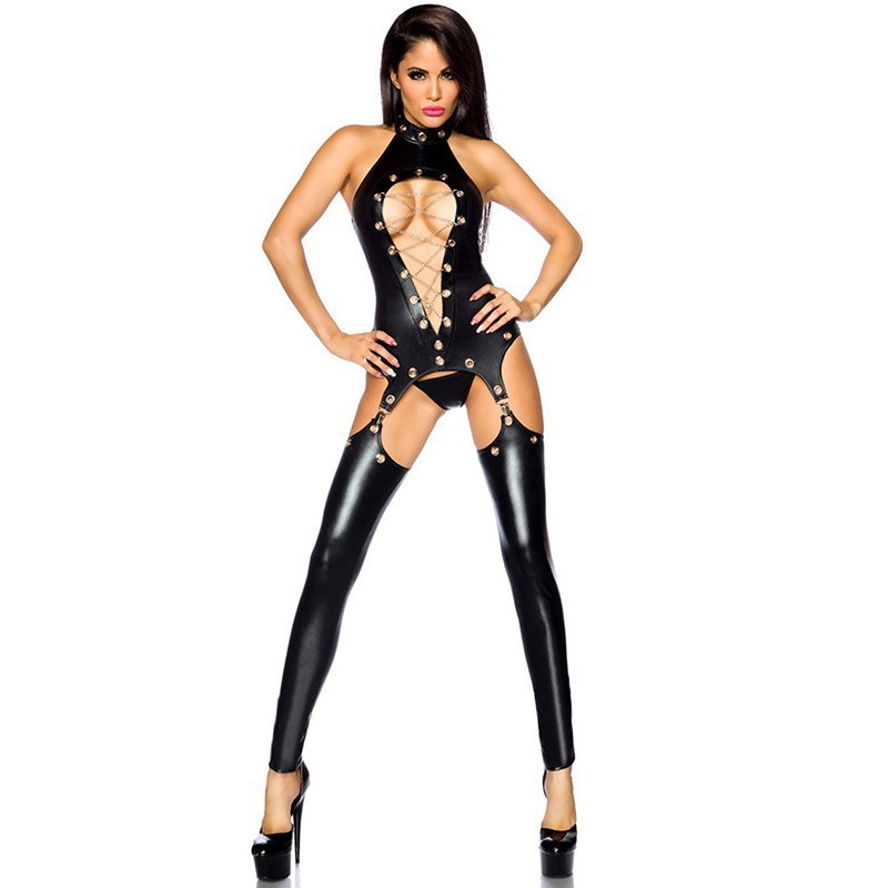 HKMN New Sexy Lingerie For Women Erotic Bodysuit Porno BDSM Bondage Body Hot Sex Costumes Latex Clothes Baby Doll Exotic Apparel