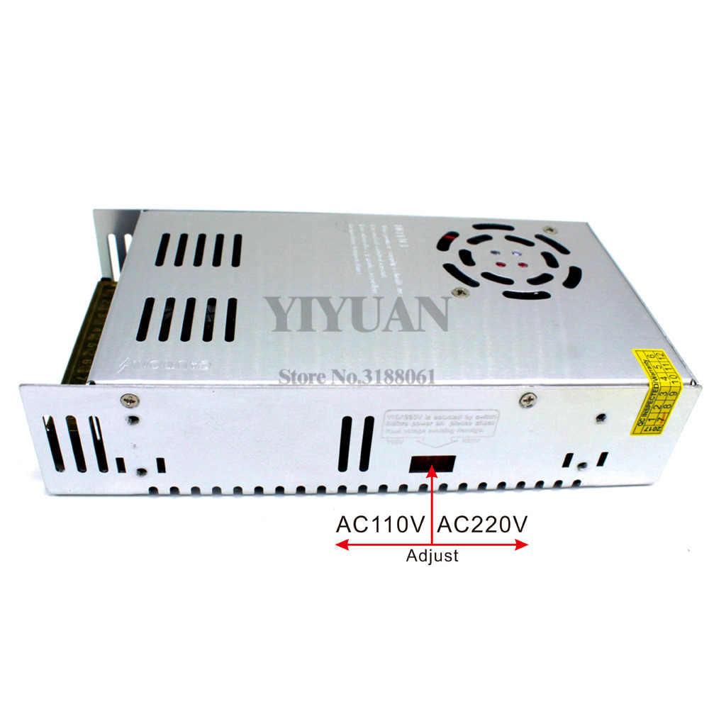 Transformadores Fuente de alimentaci/ón 100-240V a 24V 20A 480W Convertidor de baja tensi/ón AC-DC para la luz de tira del LED Vigilancia CCTV Pantalla LED Automatizaci/ón industrial