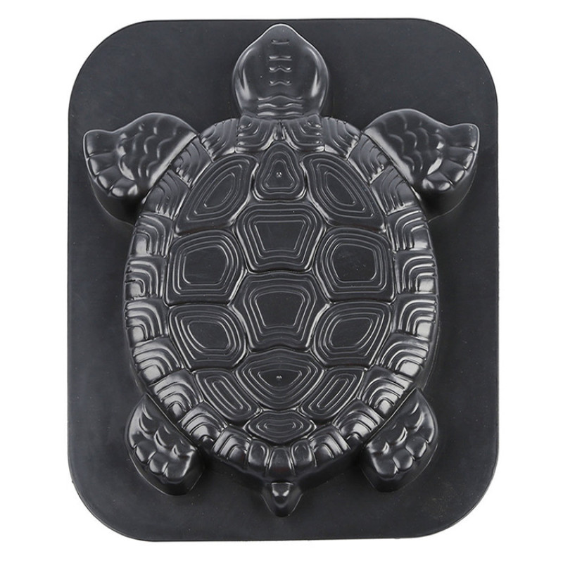 Garden Road Stepping Stone Turtle Brick Mold Creative Path Floor Making Paving Mould Plastic Concrete Path Maker Paving Molds|Paving Molds| |  - title=