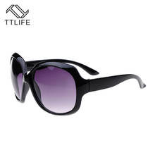 TTLIFE Fashion Sunglasses Women Vintage Classic Plastic Sun Glasses Big Frame Eyeglasses Shopping Travel UV400