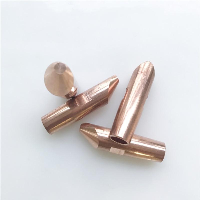 Spot Welder Electrode Tip Spot Welding Head Alumina Copper 16*60 Chrome Zirconium Copper Electrode Tip Electrode Cup