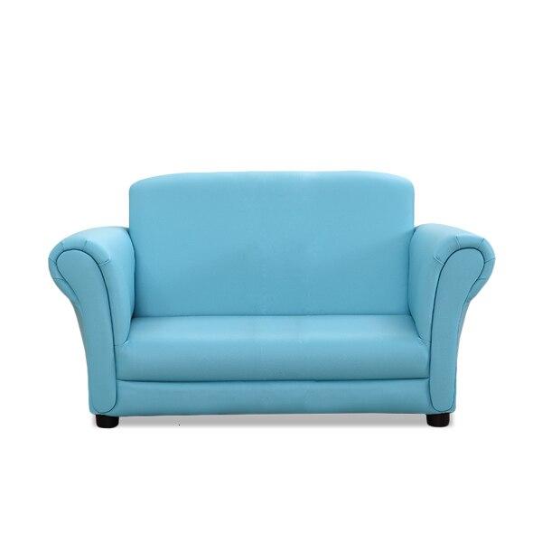 Sky Blue Skin Simplicity Home Furnishing Small Sofa Lovely Kindergarten Children Sofa Bean Bag Nordic Zitzak Baby Furniture