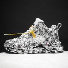 Autunno e inverno scarpe da uomo di sport allaria aperta scarpe da uomo scarpe da basket graffiti Gao Bang intensificare scarpe casual da uomo