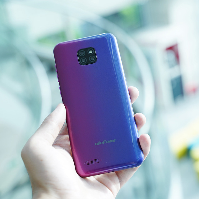 Ulefone Note 7 Smartphone 3500mAh 19:9 Quad Core 6.1inch  Waterdrop Screen 16GB ROM Mobile phone WCDMA Cellphone  Android9.0 4