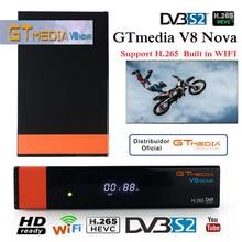 gt media v8 nova with cccam cline for 1 year spain cccam españa freesat v8 super tv box dvb-s2 bluetooth satellite receiver wifi цена в Москве и Питере
